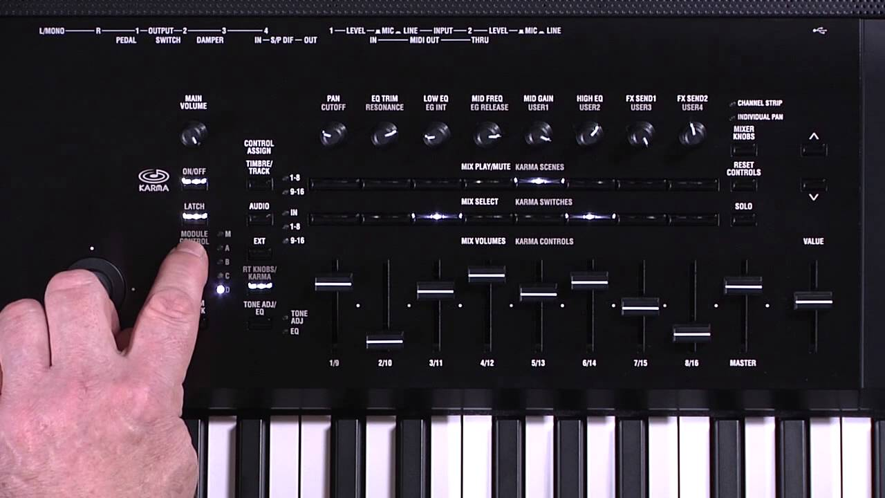korg tr music workstation manual