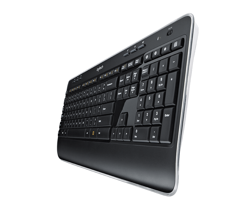 logitech wireless keyboard k520 manual