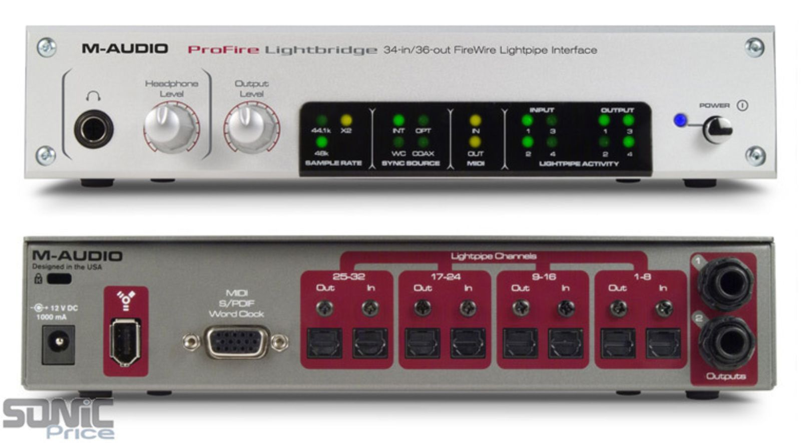 m audio profire lightbridge manual