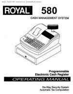 royal alpha 580 cash register manual