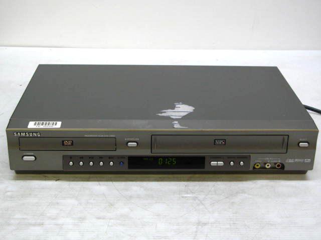 samsung dvd vhs recorder manual