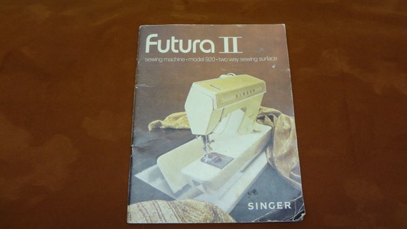 singer futura sewing machine manual