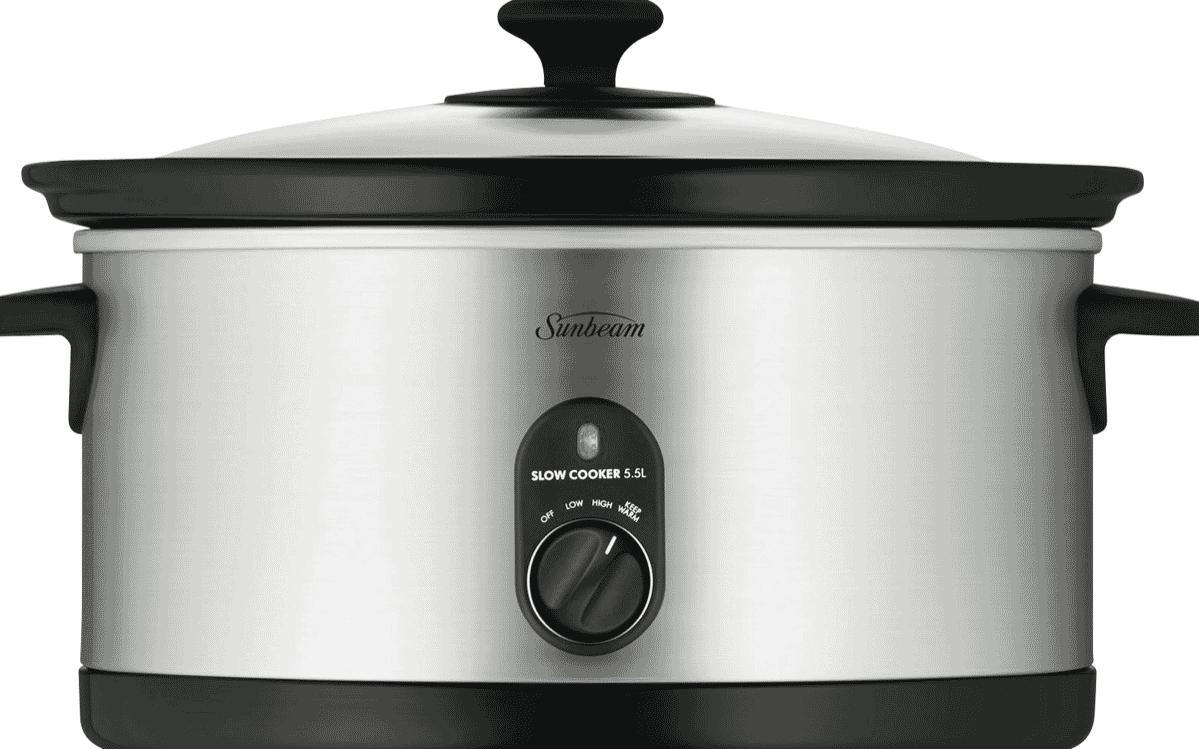 sunbeam slow cooker manual hp5590