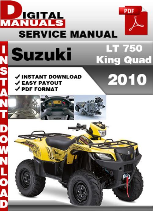 suzuki king quad 400 service manual
