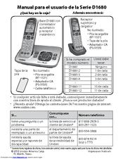 uniden dect 6.0 d1680 user manual