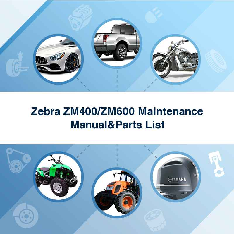 zebra zm400 service user manual